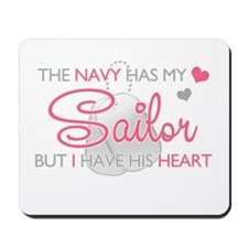 The Navy has my Soldier But I Mousepad