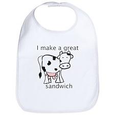 Cow Love Bib