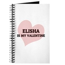 Elisha Is My Valentine Journal