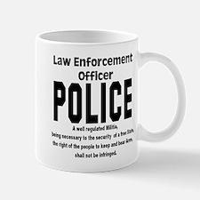 POLICE Mug
