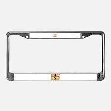 Cool Roller derby License Plate Frame