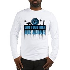 Live Together Die Alone (Dharma) Long Sleeve T-Shi