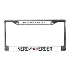 My Other Car Is A Nerd Herder License Plate Frame
