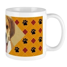 Bulldog/Beagle Photo Mug
