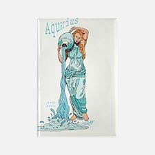 Aquarius - The Water Bearer Rectangle Magnet