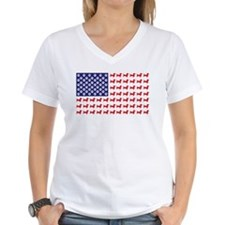 Dachshund Patriotic Flag Shirt
