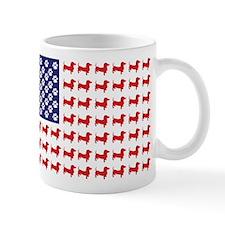 Dachshund Patriotic Flag Mug