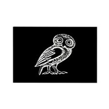 Cool Owls Rectangle Magnet (10 pack)