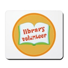 Book Library Volunteer Mousepad