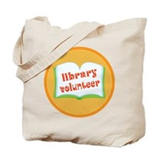 Book Library Volunteer Tote Bag