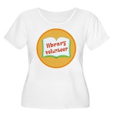 Book Library Volunteer T-Shirt