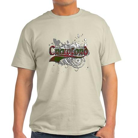 Crawford Tartan Grunge Light T-Shirt