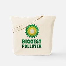 Vintage BP Biggest Polluter Tote Bag