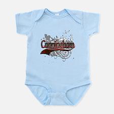 Cunningham Tartan Grunge Infant Bodysuit