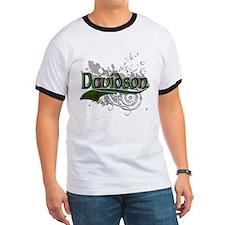 Davidson Tartan Grunge T