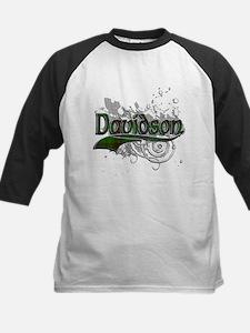 Davidson Tartan Grunge Tee