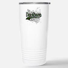 Davidson Tartan Grunge Stainless Steel Travel Mug