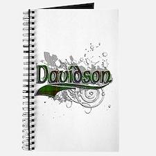 Davidson Tartan Grunge Journal