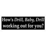 BP and Drill, Baby, Drill Bumper Sticker