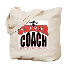 Cheer Coach Tote Bag