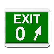 Exit 0 Mousepad