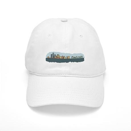 Detroit Skyline - Color Cap