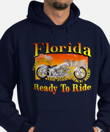 Hoodie (dark) Florida Cape Coral Ready to Ride