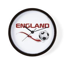 Soccer ENGLAND Wall Clock