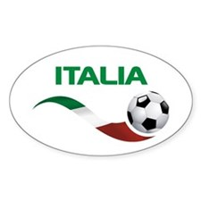 Soccer ITALIA Decal