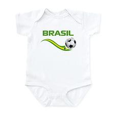 Soccer BRASIL Infant Bodysuit