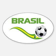 Soccer BRASIL Decal