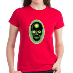 BP Skull Women's Dark T-Shirt
