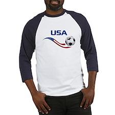 Soccer USA Baseball Jersey