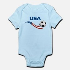 Soccer USA Infant Bodysuit