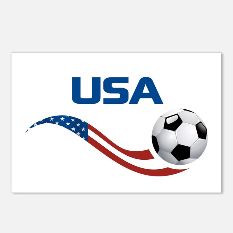 Soccer USA Postcards (Package of 8)
