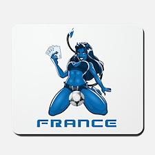 Les Bleus Mousepad