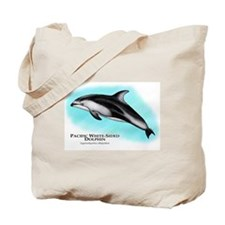 Pacific White-Sided Dolphin Tote Bag