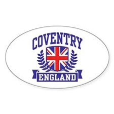 Coventry England Decal
