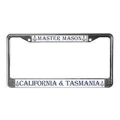 California & Tasmania License Plate Frame