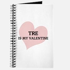 Tre Is My Valentine Journal