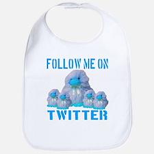 Follow Me On Twitter Bib