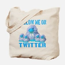 Follow Me On Twitter Tote Bag