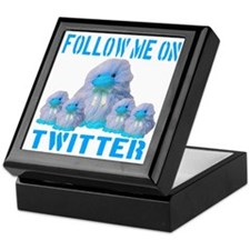 Follow Me On Twitter Keepsake Box