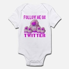 Follow Me On Twitter Infant Bodysuit