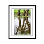 Reflecting Framed Panel Print