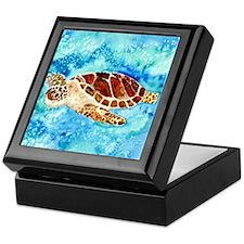 Unique Sea turtle Keepsake Box
