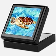Cute Turtle Keepsake Box