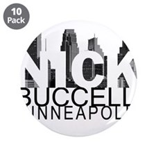 "Nick Buccelli Skyline 3.5"" Button (10 pack)"
