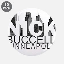 "Nick Buccelli Skyline 3.5"" Button (10 pack)"