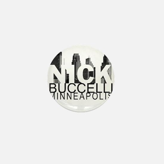Nick Buccelli Skyline Mini Button (10 pack)